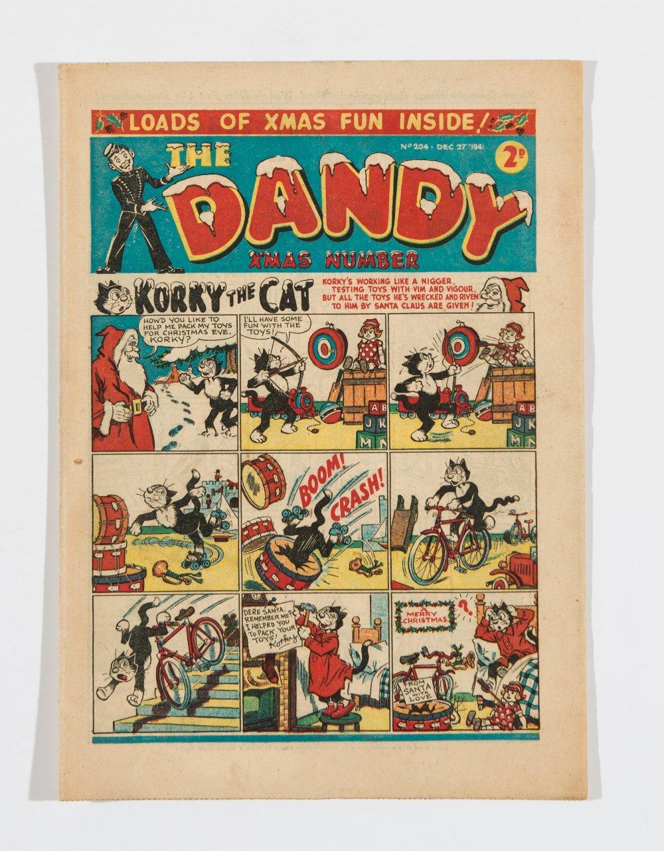 Lot 23 - Dandy 204 Xmas (1941). Propaganda war issue. Bright covers, cream pages [vfn]