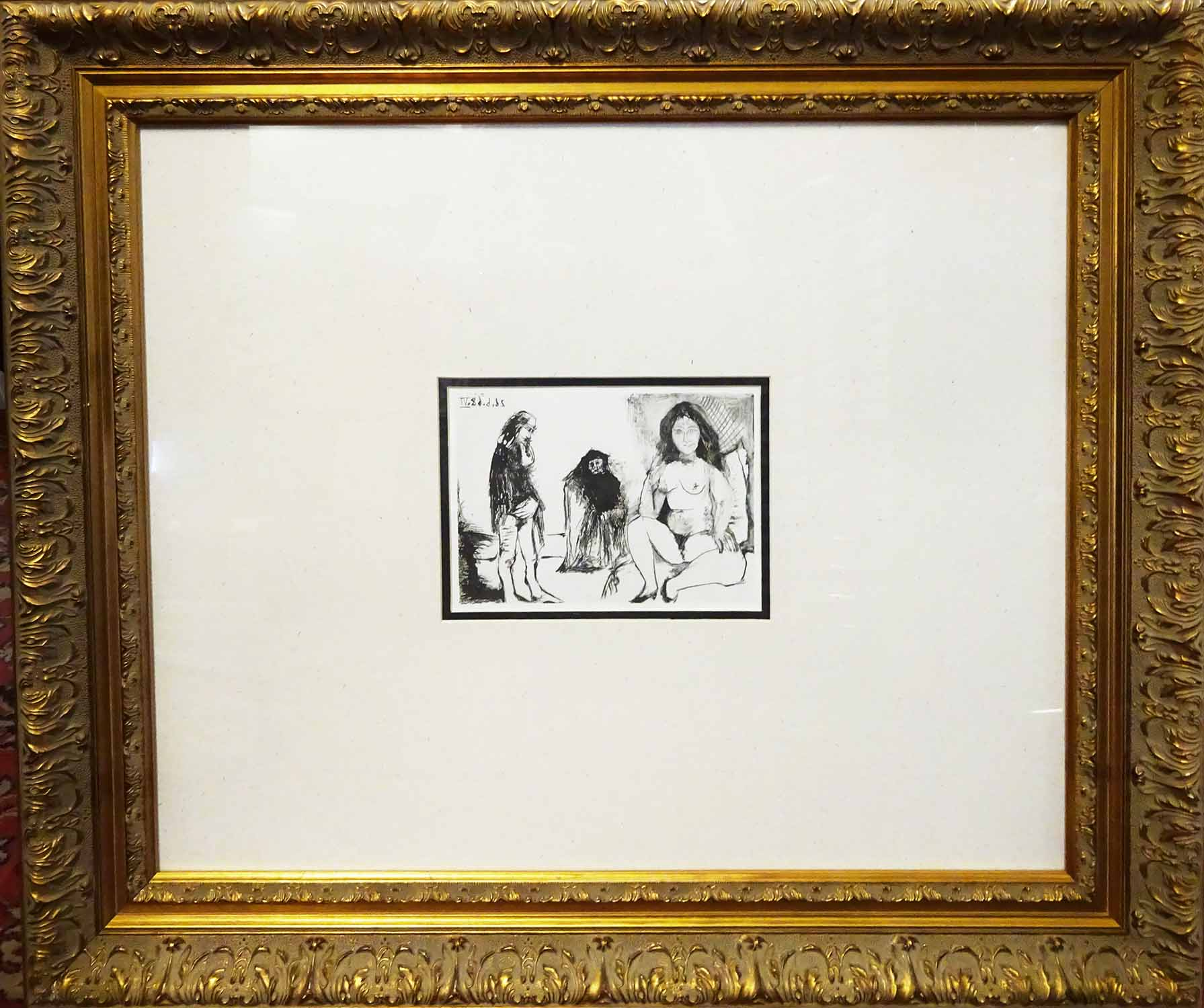 Lot 30 - After PABLO PICASSO, offset lithograph from the Picasso 347 volume, printed by Conzett and Huber,