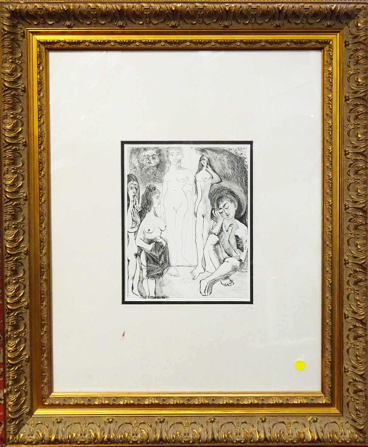 Lot 31 - After PABLO PICASSO, offset lithograph from the Picasso 347 volume, printed by Conzett and Huber,