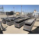 Iso-Flo Stainless Steel Vibratory Conveyor, Approx 288in L x 18 | Loc: CA | Seller to Load No Charge