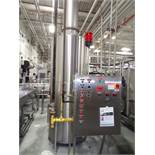 2011 Resource Recovery Natural Gas Water Heater, Direct Contact, Model MZ | Loc: IN | Rig Fee: $350