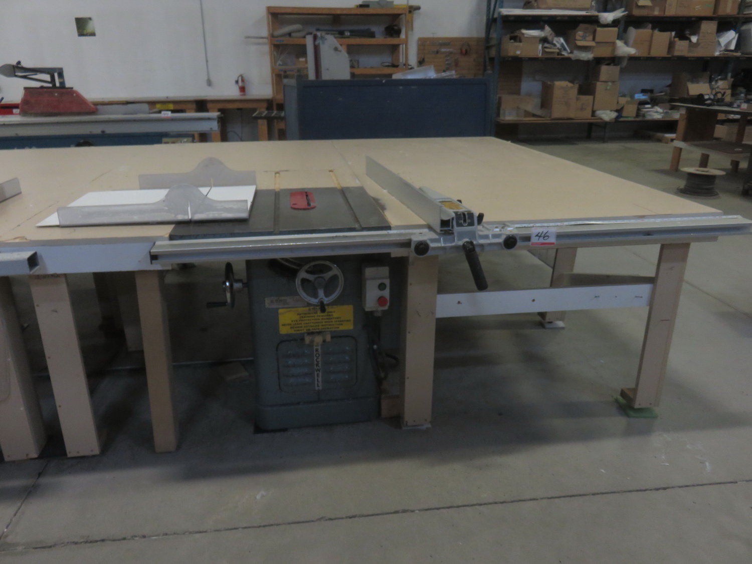 "ROCKWELL 34462 10"" TABLE SAW"