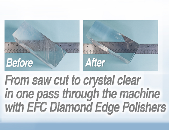 EDGE FINISHER EF-200 TABLE TOP PLASTIC EDGE SMOOTHER & CLEAR FINISHER - Image 3 of 3