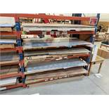 LOT - ASSTD MASONITE, ACRYLIC, POLYETHYLENE, & ASSTD SHEETS (ON RACKING)