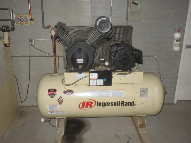 INGERSOLL RAND MODEL 7100 15HP AIR COMPRESSOR, S/N 4036166