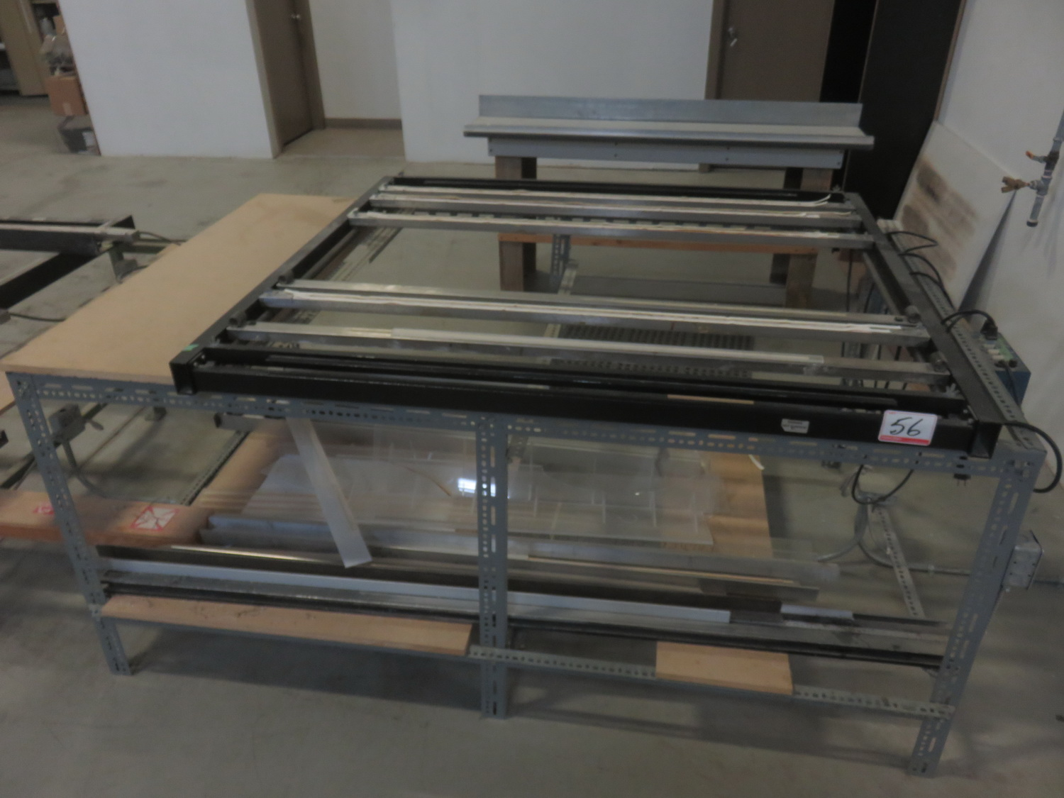 """CUSTOMER 50"""" X 50"""" THERMAL FORMING STATION W/ FTM INC CONTROL"""