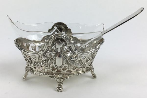 (Curiosa) Zilveren beurs en mosterdpotje, Nederland/DuitslandZilveren beurs en mosterdpotje, Ne - Image 5 of 8