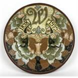 (Toegpaste kunst) Wilhelminabord, BreetveltAardewerk Wilhelminabord 1898-1923, decor H. Breetve