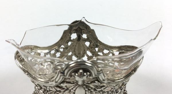 (Curiosa) Zilveren beurs en mosterdpotje, Nederland/DuitslandZilveren beurs en mosterdpotje, Ne - Image 6 of 8