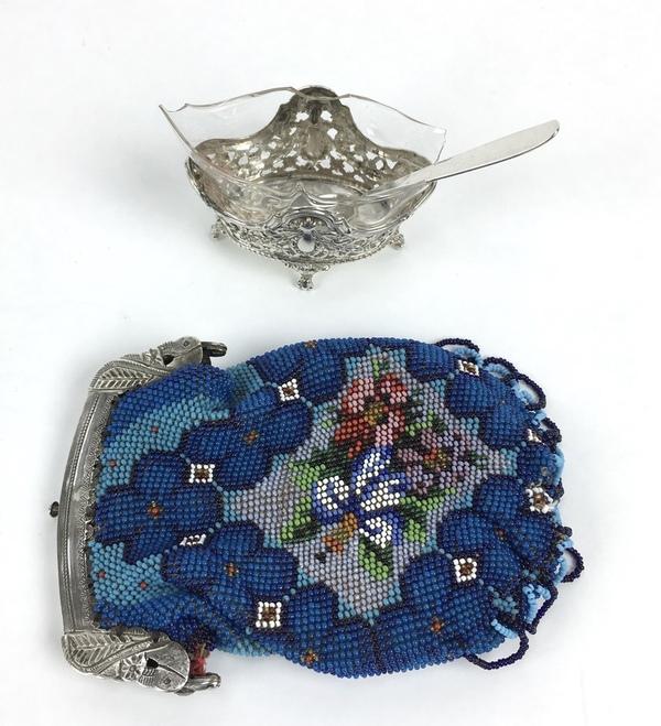 (Curiosa) Zilveren beurs en mosterdpotje, Nederland/DuitslandZilveren beurs en mosterdpotje, Ne - Image 3 of 8