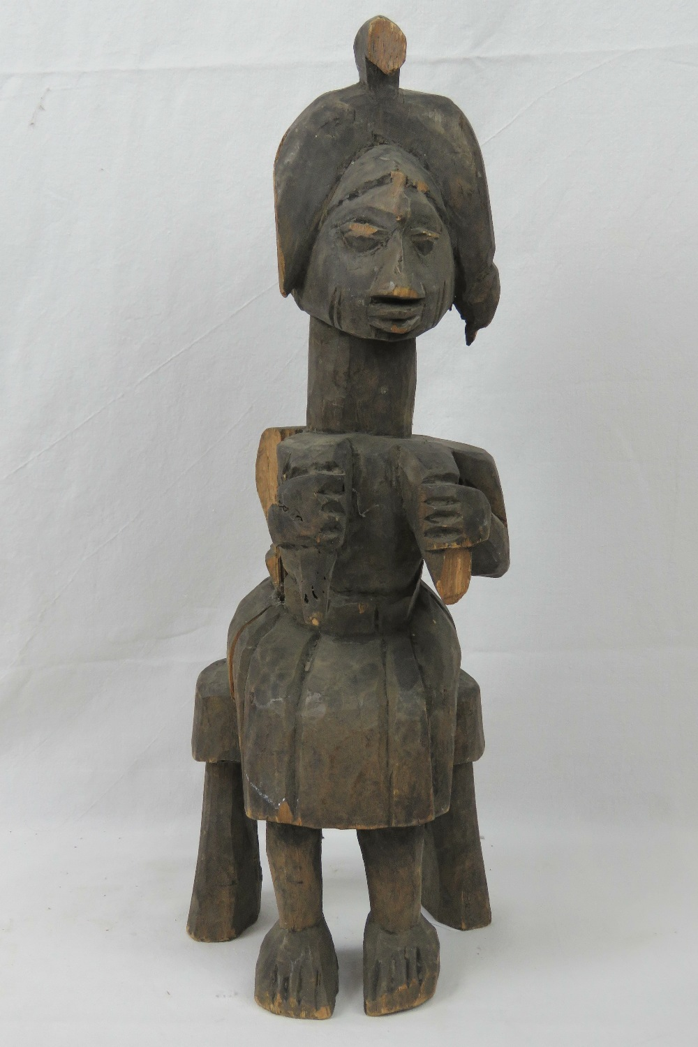 Lot 446 - A late 19th / early 20th century Yoruba