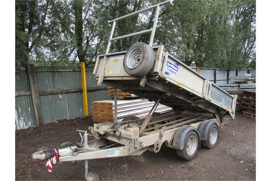ifor williams tt3017 tipper trailer 3500kg rated electric and manual rh i bidder com Ifor Williams Badge Ifor Williams Trailer 510