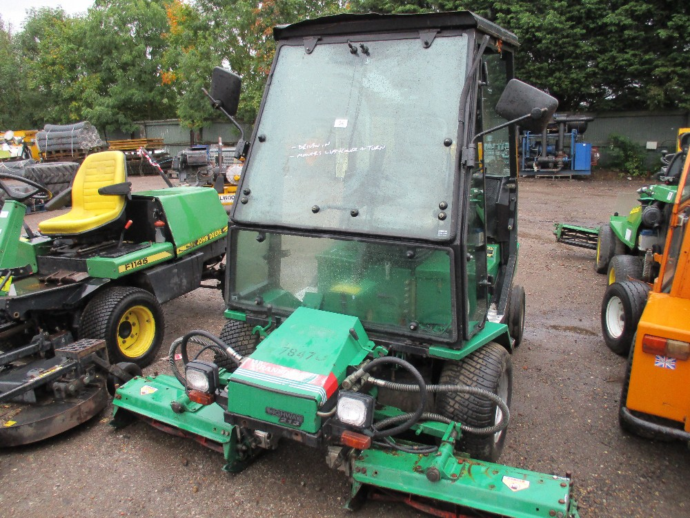 Ransomes Mower manual Highway 213 Xlt