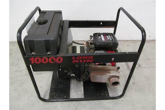 PORTABLE GAS GENERATOR MODEL 10 000 LONG RUN, BRIGGS