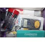 To Contain Class Mate Sharpeners Class Mate 25 Ball Point Pens Scientific Casio Calculators Class