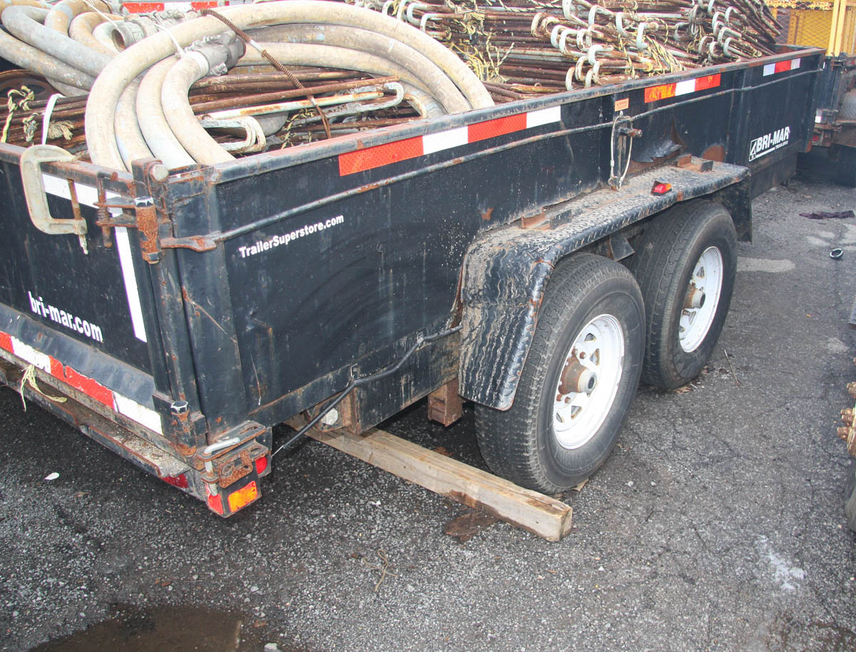 14' BRI-MAR TRAILER (WTD3) (NO CONTENTS; TRAILER ONLY) [LOCATED @ KEM YARD - PELHAM MANOR, BRONX, - Image 5 of 6