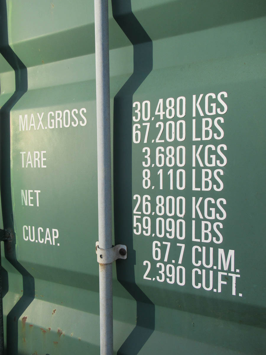 40' SHUNDE SHUN CONTAINER, TYPE SC40-CAP-01, S/N: S194117 (2003) [LOCATED @ MARINE PARKWAY - Image 5 of 5