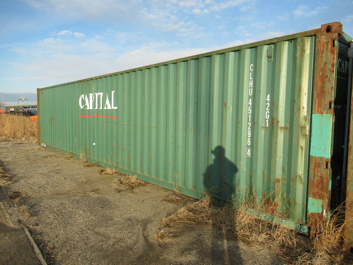 40' YANG ZHOU TYPE CL401/03 CONTAINER (2003) [LOCATED @ MARINE PARKWAY BRIDGE - QUEENS SIDE]