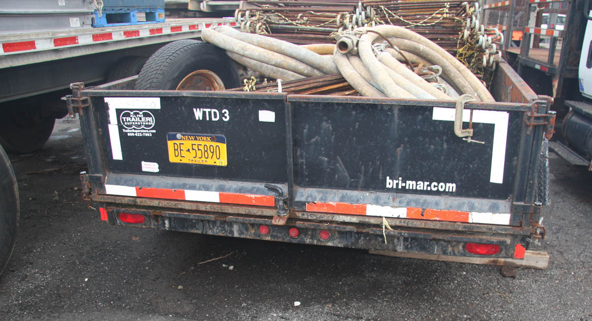 14' BRI-MAR TRAILER (WTD3) (NO CONTENTS; TRAILER ONLY) [LOCATED @ KEM YARD - PELHAM MANOR, BRONX, - Image 4 of 6