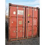 20' SHIPPING CONTAINER (#34) [LOCATED @ 6 CANAL ROAD, PELHAM, NY (BRONX)]