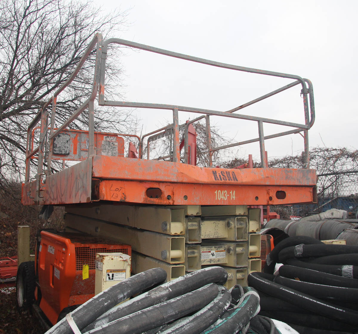 2006 JLG 4394RT ROUGH TERRAIN SCISSOR LIFT, WITH 43' MAX PLATFORM HEIGHT, 1500# CAPACITY, S/N: - Image 10 of 10