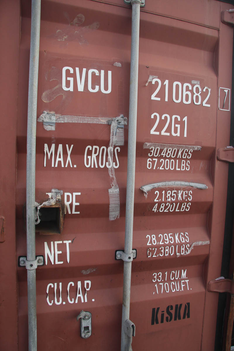 20' SHIPPING CONTAINER (GVC) [LOCATED @ 6 CANAL ROAD, PELHAM, NY (BRONX)] - Image 3 of 4