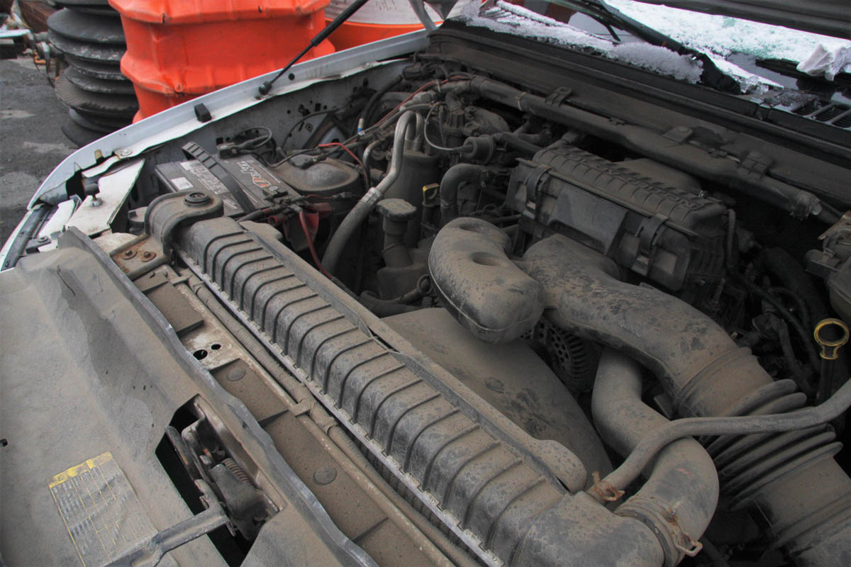 2006 FORD F-250 XL SUPER DUTY PICKUP TRUCK, 4-WHEEL DRIVE, AUTOMATIC, APPROXIMATELY 95,601 MILES, - Image 3 of 11