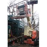 JLG 450AJ SERIES II BOOM LIFT, DIESEL, WITH PNEUMATIC TIRES, 45' MAX HEIGHT, 500# CAPACITY, 24'