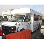 2009 CHEVY G4500 14-SEAT PASSENGER BUS, EMERGENCY REAR EXIT, APPROXIMATELY 120,801 MILES, VIN: