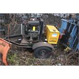HYDRA-TECH PUMPS, INC. PORTABLE HYDRAULIC PUMP, YANMAR DRIVE [LOCATED @ KEM YARD - PELHAM MANOR,