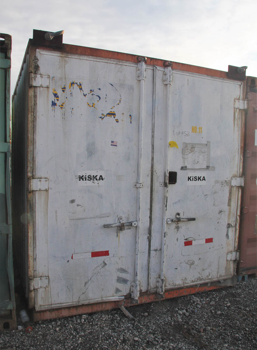 10' STORAGE CONTAINER (#11) [LOCATED @ 6 CANAL ROAD, PELHAM, NY (BRONX)]