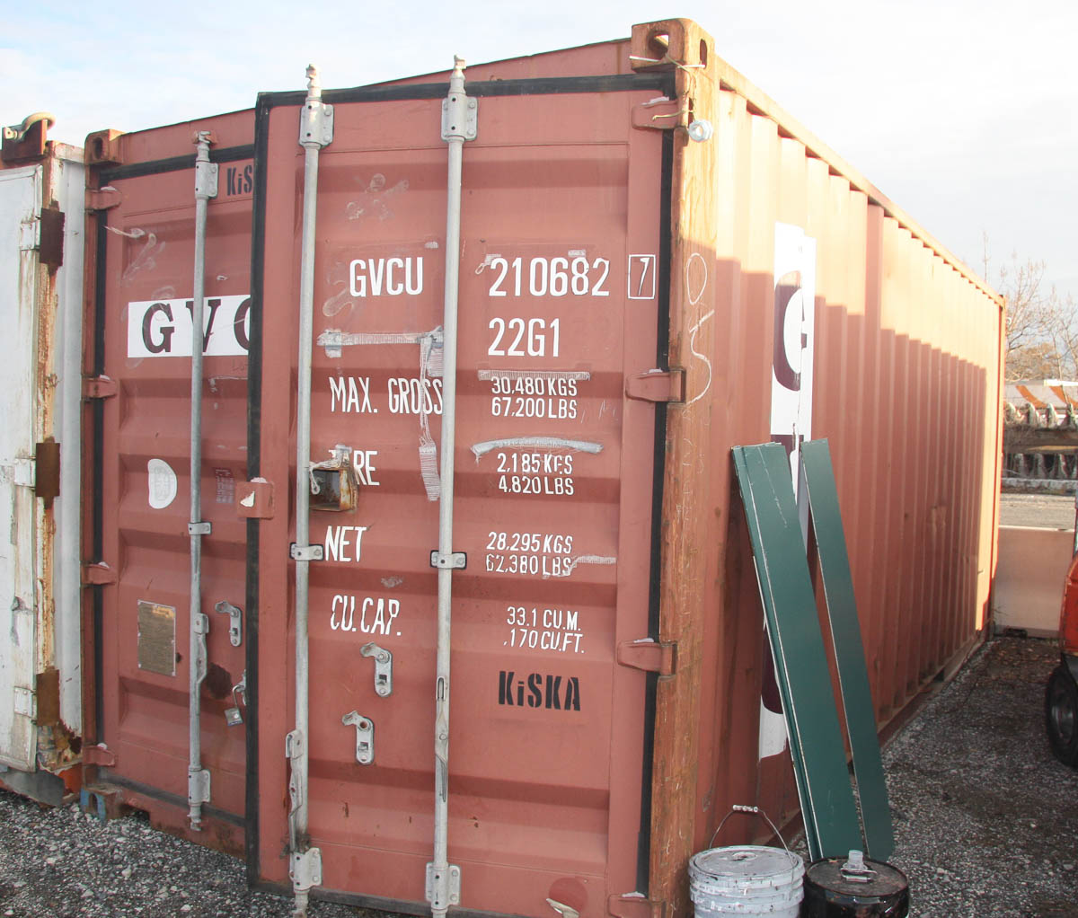 20' SHIPPING CONTAINER (GVC) [LOCATED @ 6 CANAL ROAD, PELHAM, NY (BRONX)] - Image 2 of 4