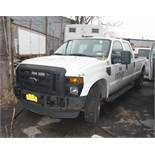 2009 FORD F-250 XL SUPER DUTY CAB PICKUP TRUCK, 4-WHEEL DRIVE, AUTOMATIC, WITH APPROXIMATELY 89,