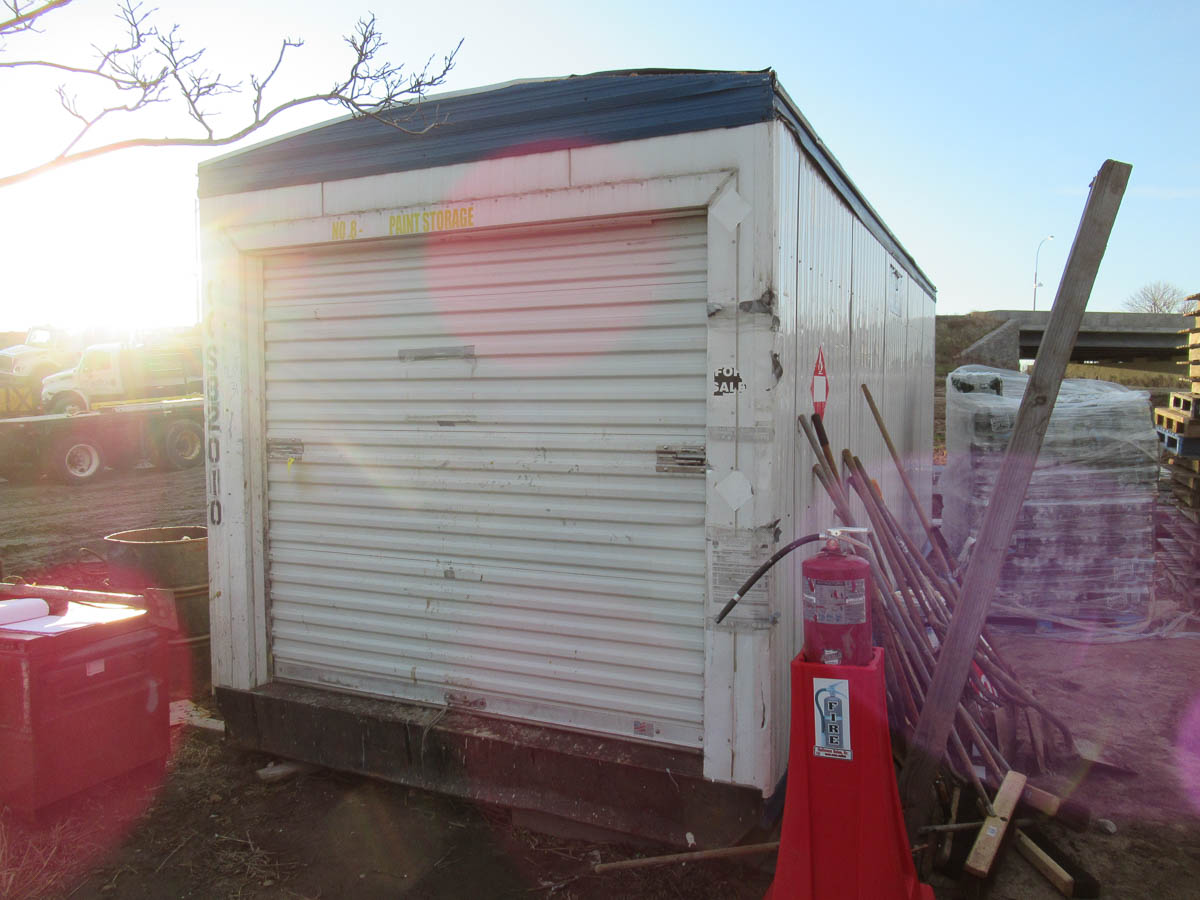 APPROXIMATELY 14' INSULATED CONTAINER / TRAILER [LOCATED @ MARINE PARKWAY BRIDGE - QUEENS SIDE]