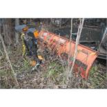 8' CURTIS SNOW PLOW ATTACHMENT [LOCATED @ KEM YARD - PELHAM MANOR, BRONX, NY]