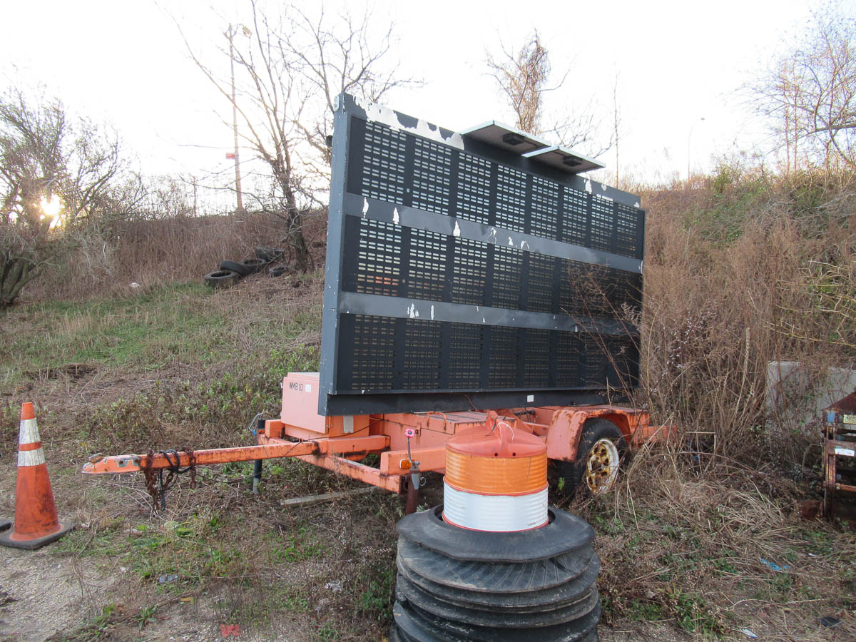 2004 AMERICAN SIGNAL MDL. T331 MESSAGE BOARD [NOTE: SAMPLE PHOTO] [LOCATED @ MARINE PARKWAY BRIDGE -