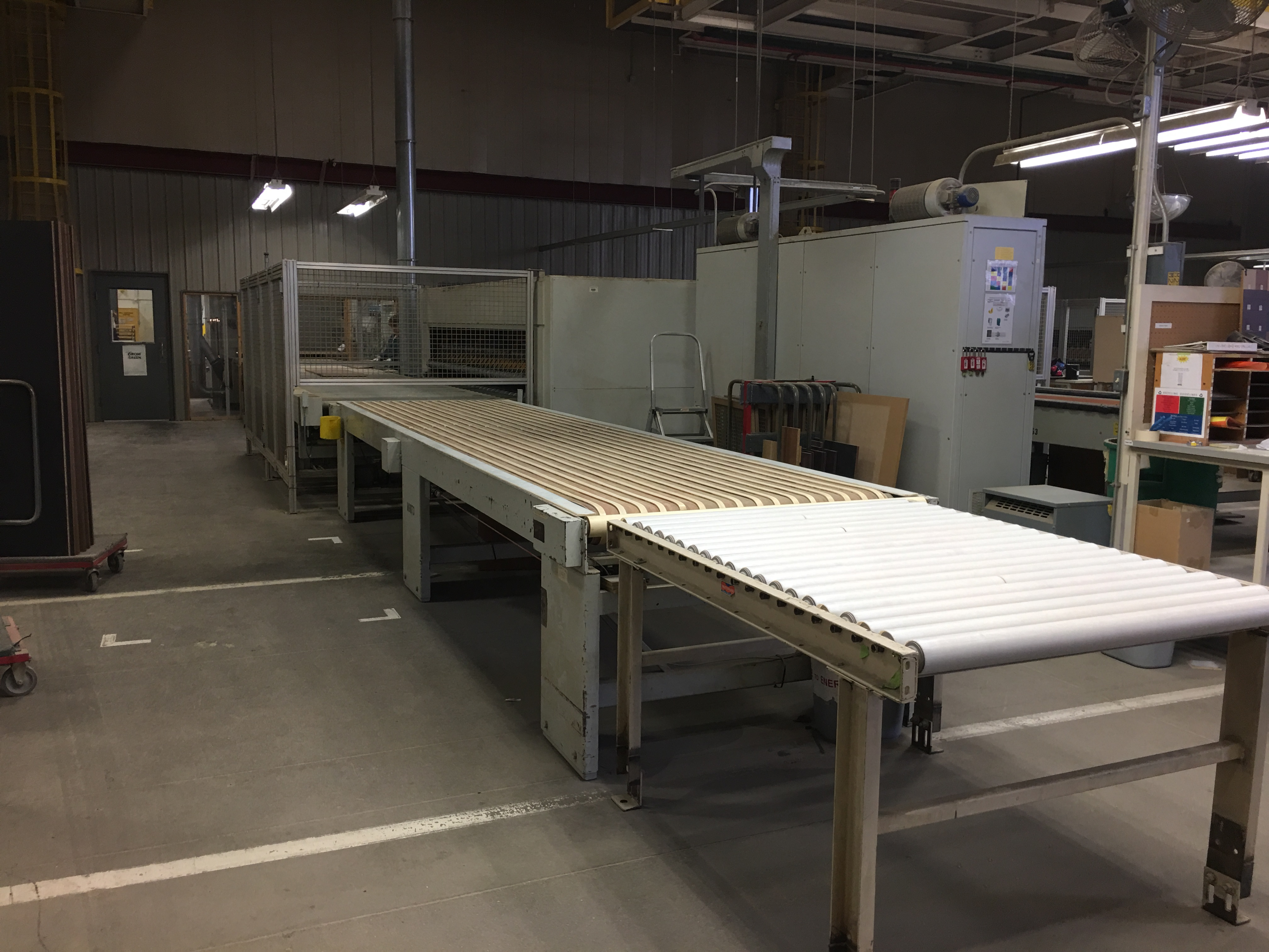 CEFLA PANEL FLIPPER (WITH INFEED AND OUTFEED BELT CONVEYORS) - Image 11 of 11