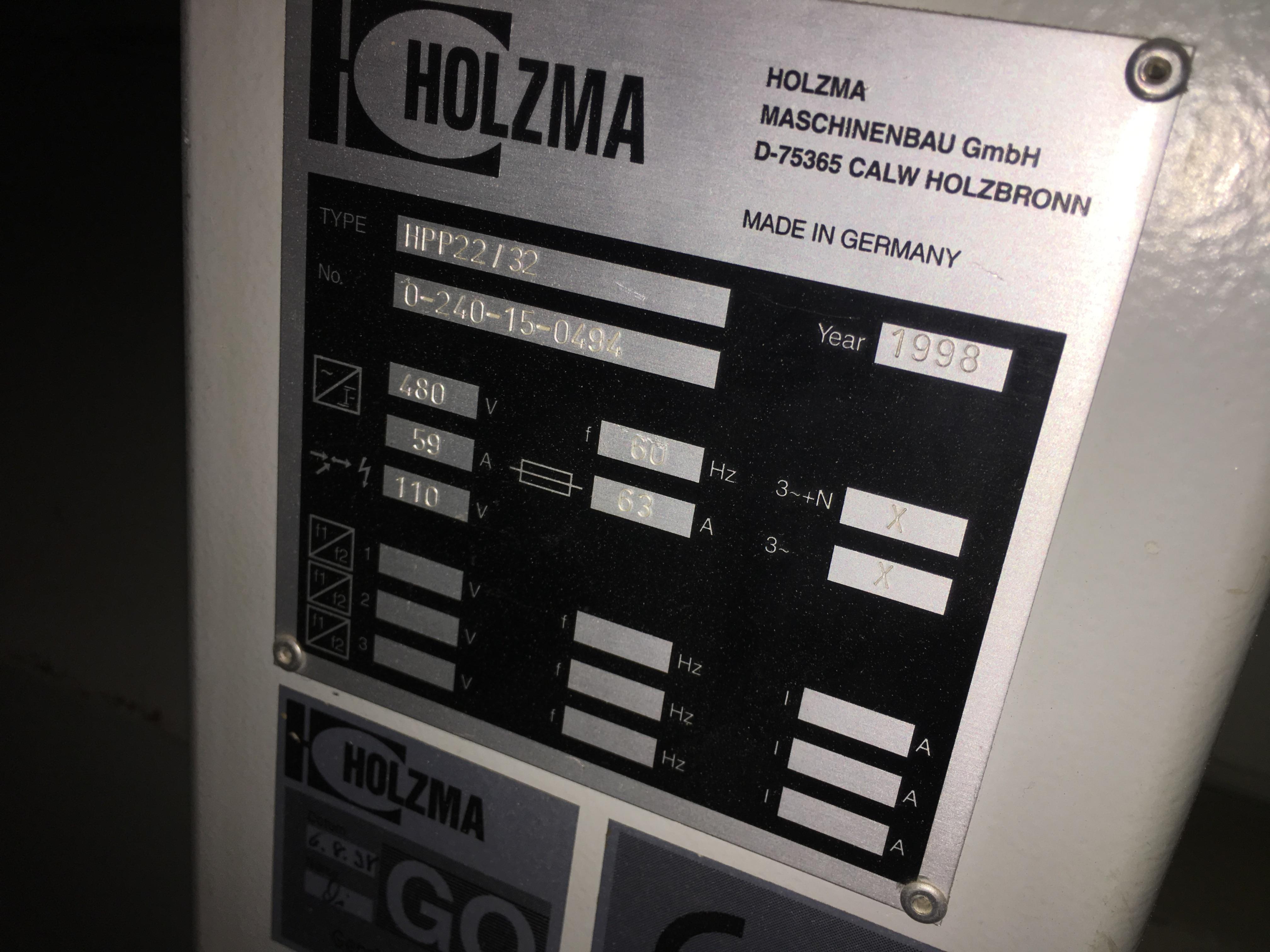 Lot 11 - HOLZMA (HPP22/32) CNC PANEL SAW