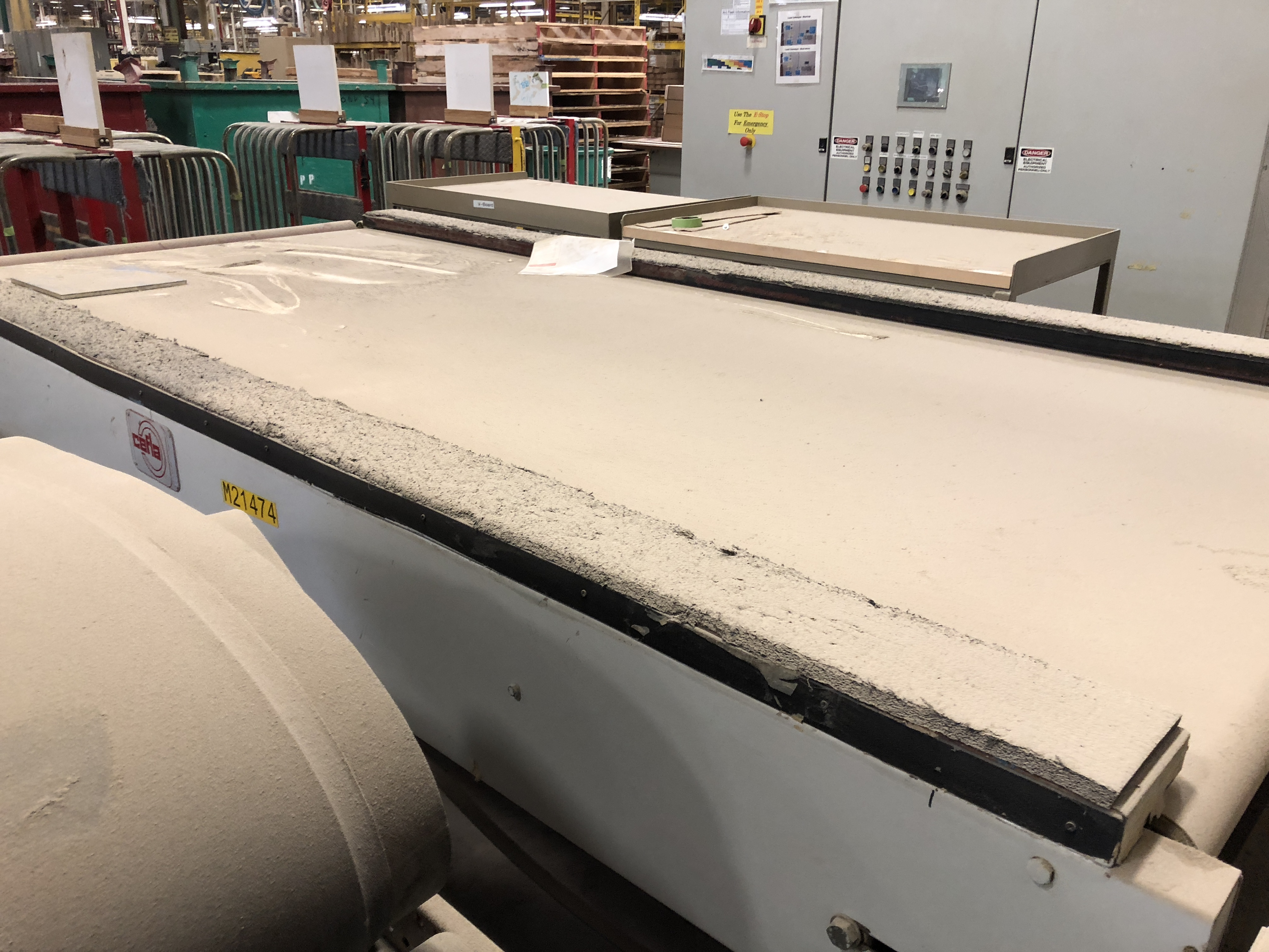 CEFLA PANEL FLIPPER (WITH INFEED AND OUTFEED BELT CONVEYORS) - Image 7 of 11