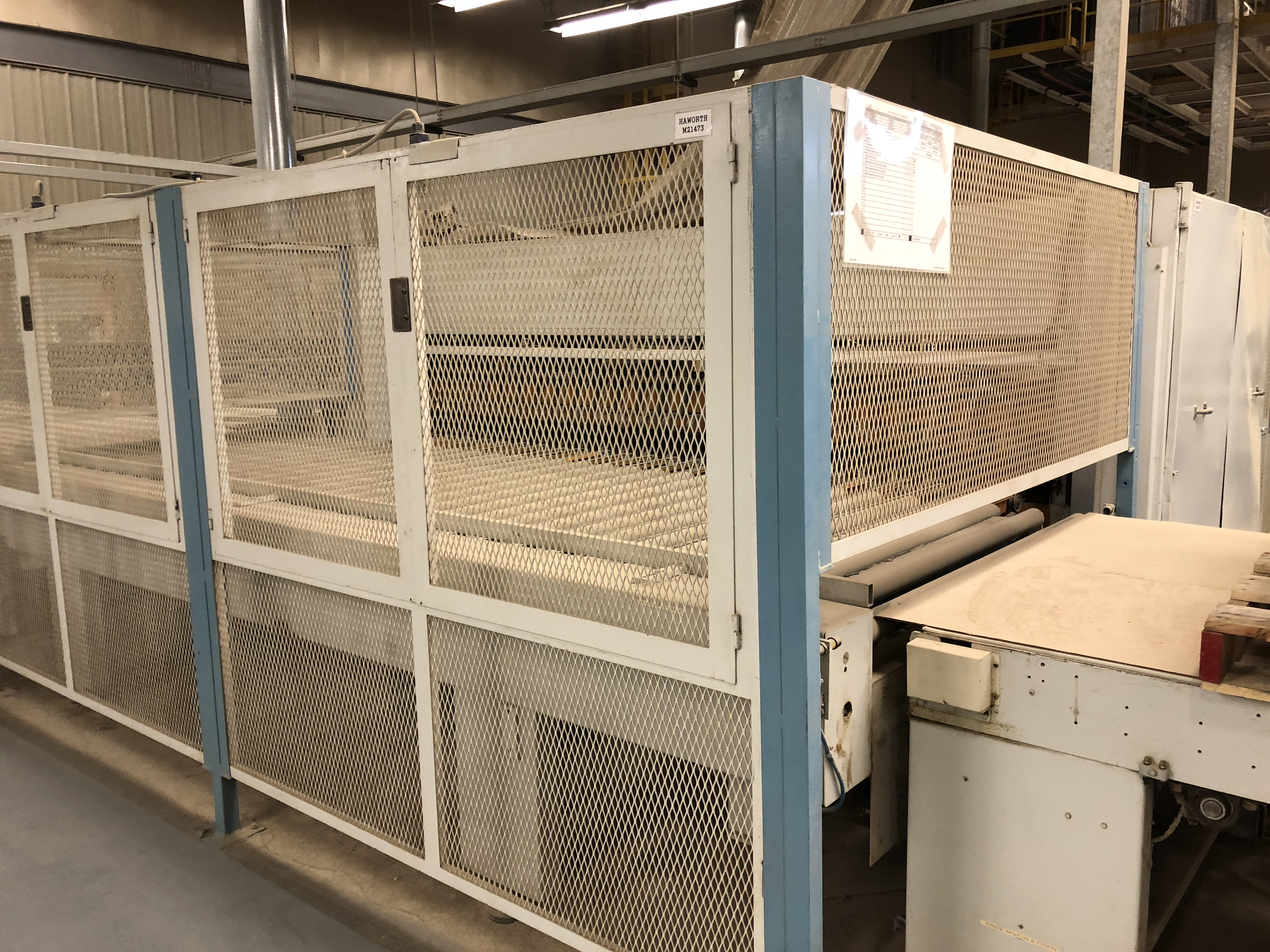 CEFLA PANEL FLIPPER (WITH INFEED AND OUTFEED BELT CONVEYORS) - Image 10 of 11