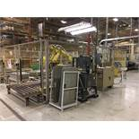 FANUC UNLOADING / STACKING ROBOT CELL