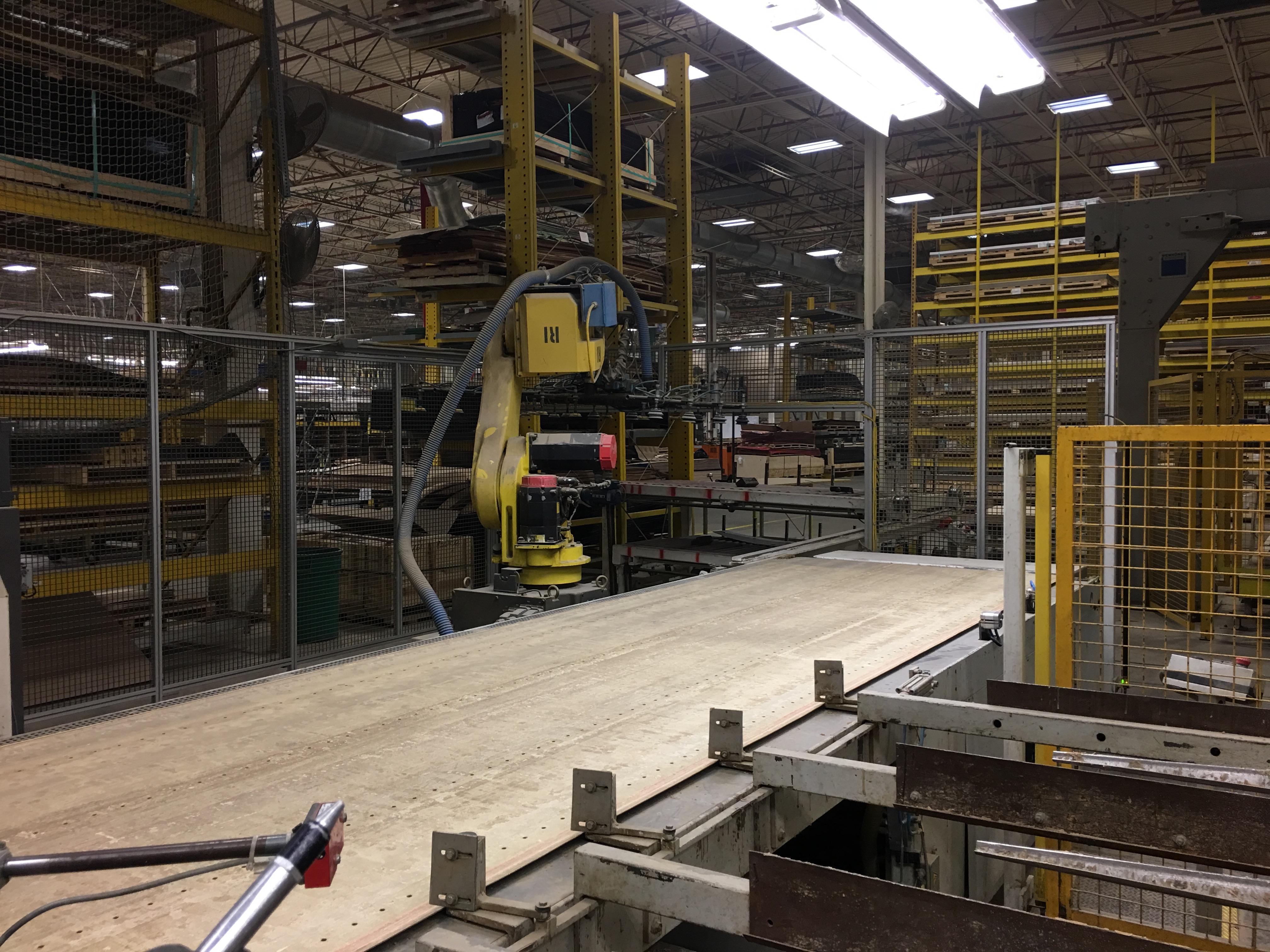 LOT OF 2 LOADING ROBOTS - LAYUP SYSTEM