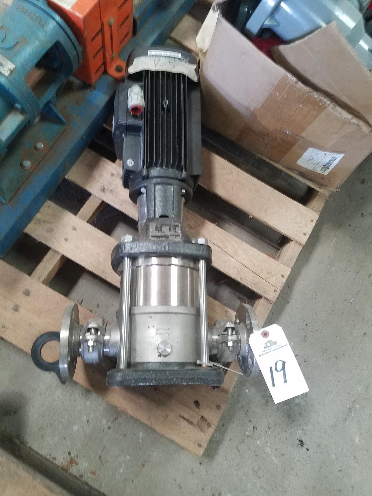 Grundfos Pump, M# CRN10-03 A-P-G-E-HOOE | Rig Fee: $50