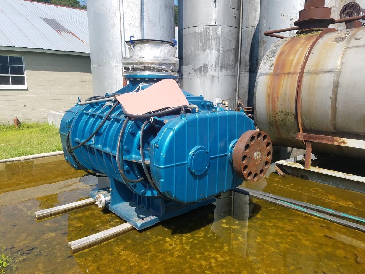 Zhanggu Rotary Lobe Blower/Vacuum Pump, M# RRG-450NW, S/N RR07437   Rig Fee: $500 - Image 2 of 4