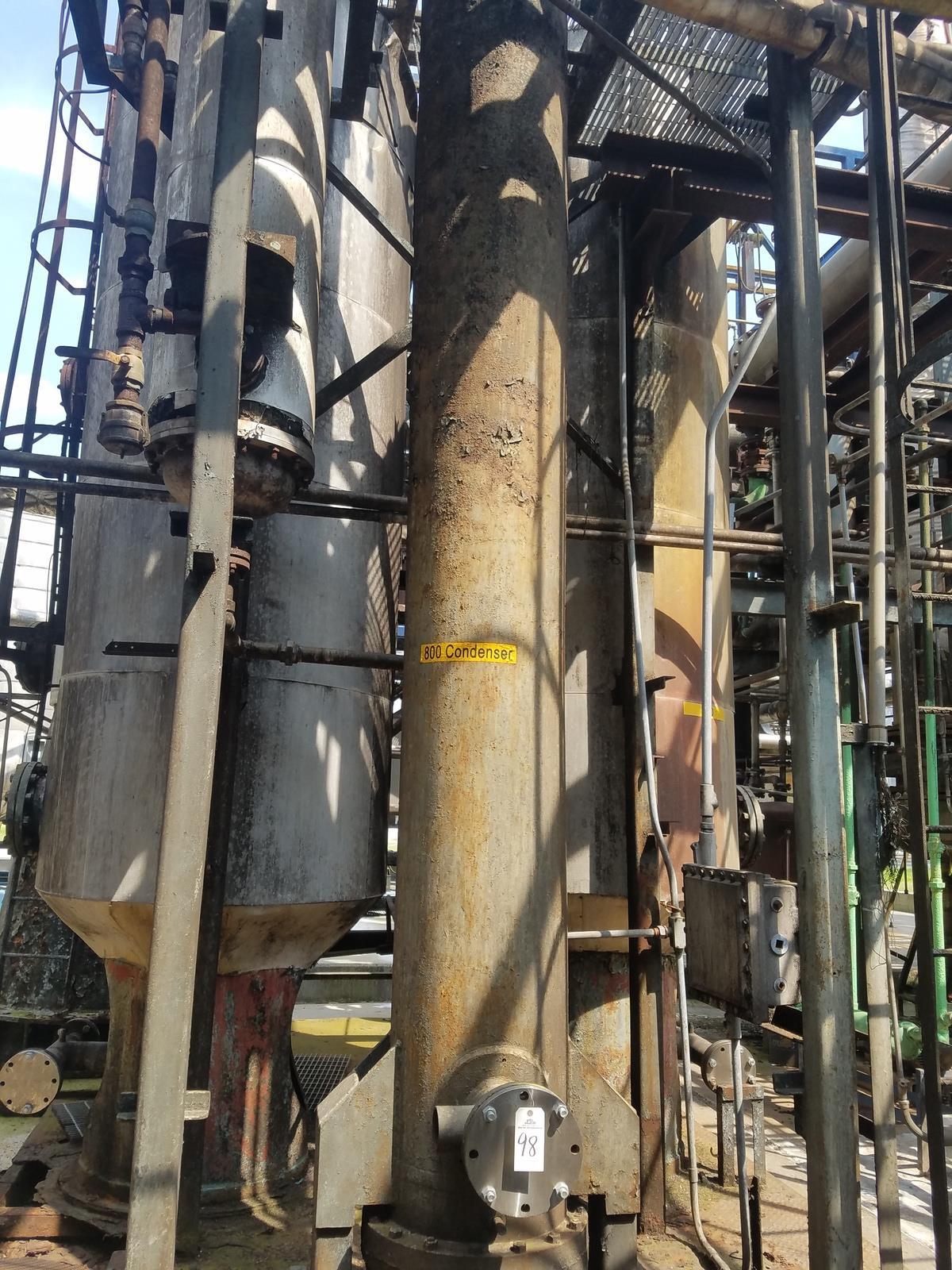 Condenser Column, (Ref. 800 Condenser)   Rig Fee: Contact Rigger