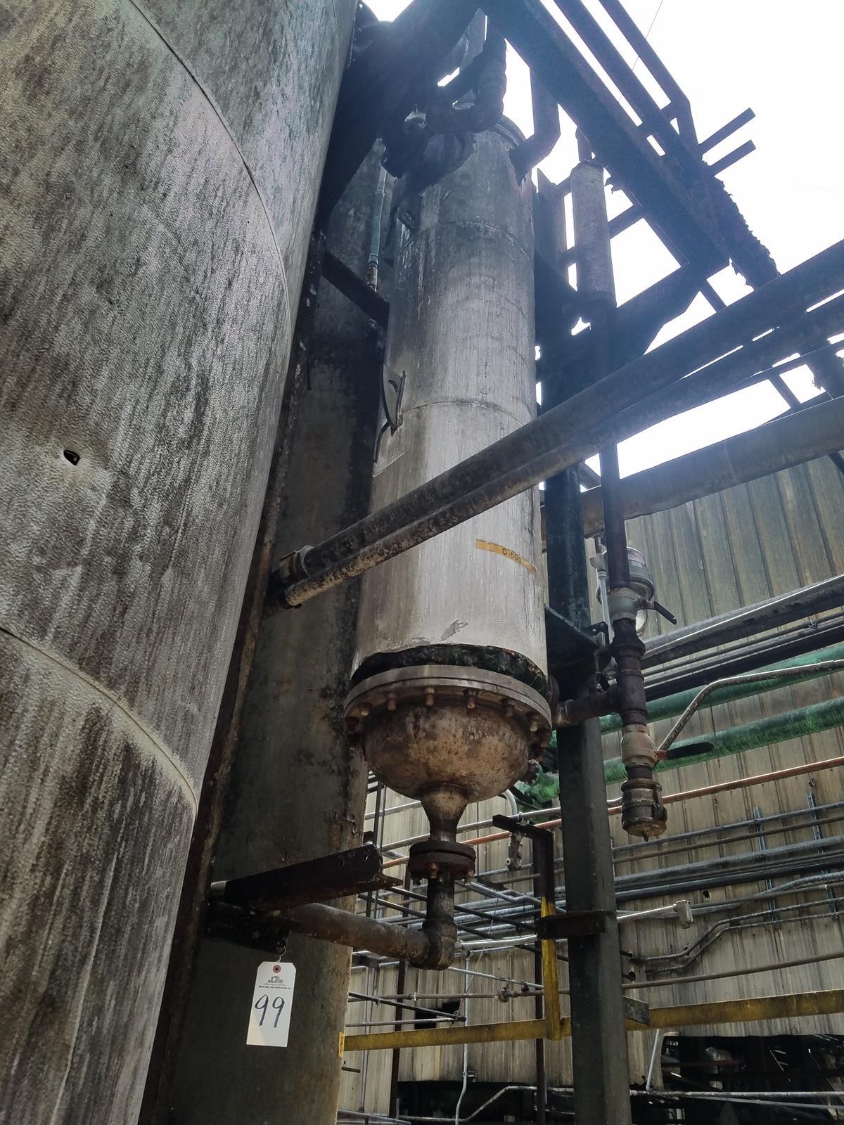Condenser Column, (Ref. D-501)   Rig Fee: Contact Rigger