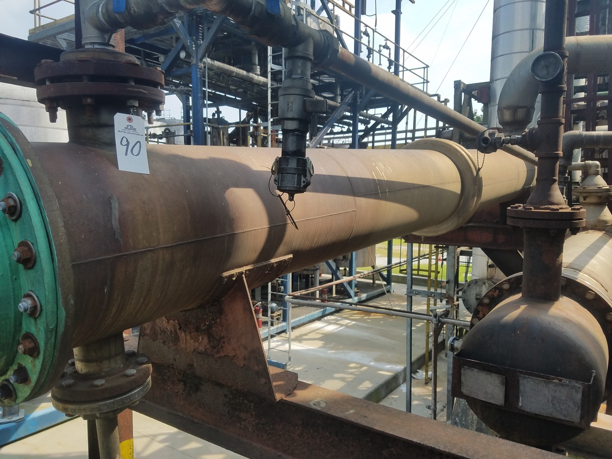 Lot of (2) Heat Exchangers   Rig Fee: Contact Rigger