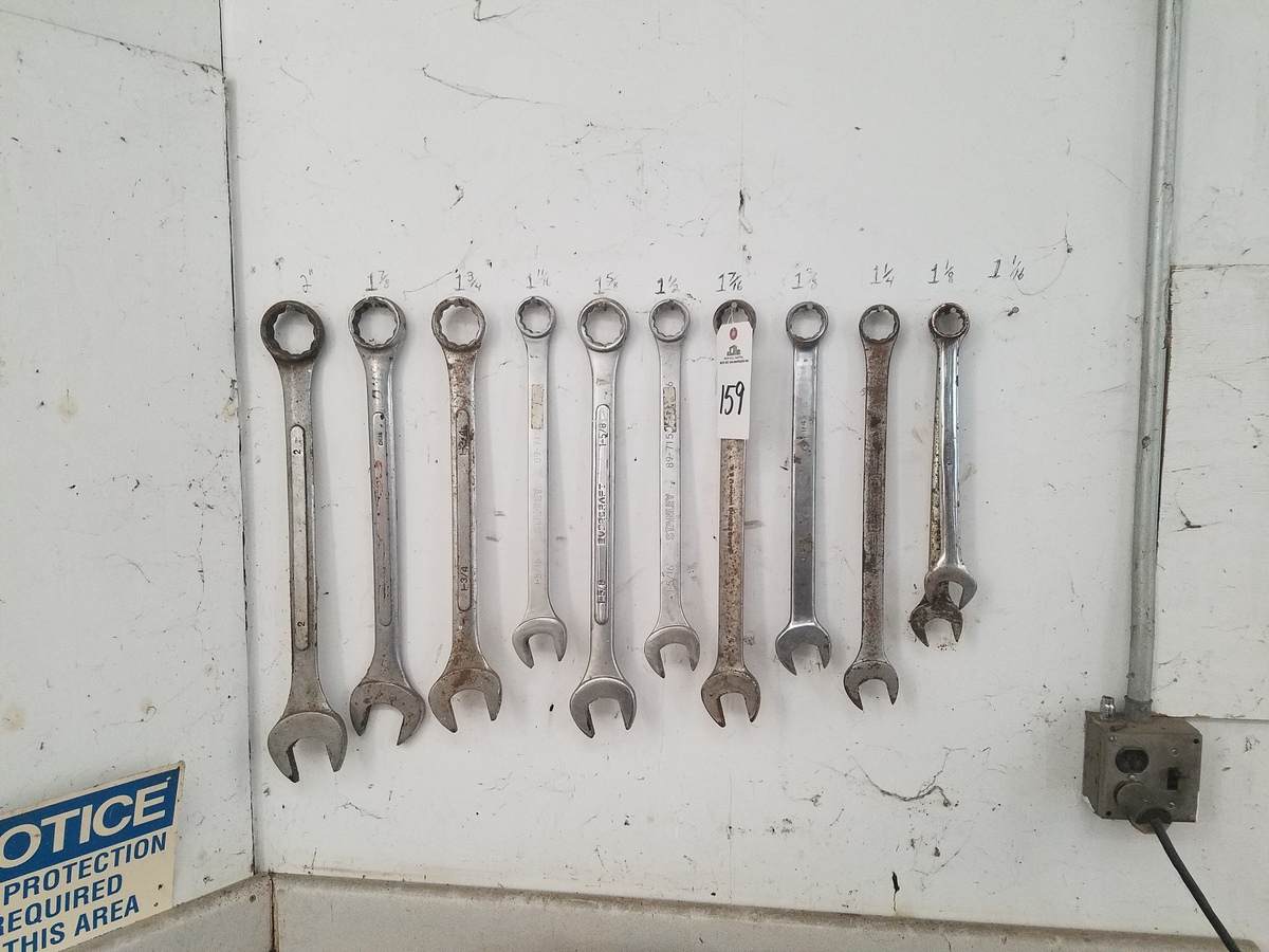 Lot 159 - Lot of End Wrenches | Rig Fee: $25