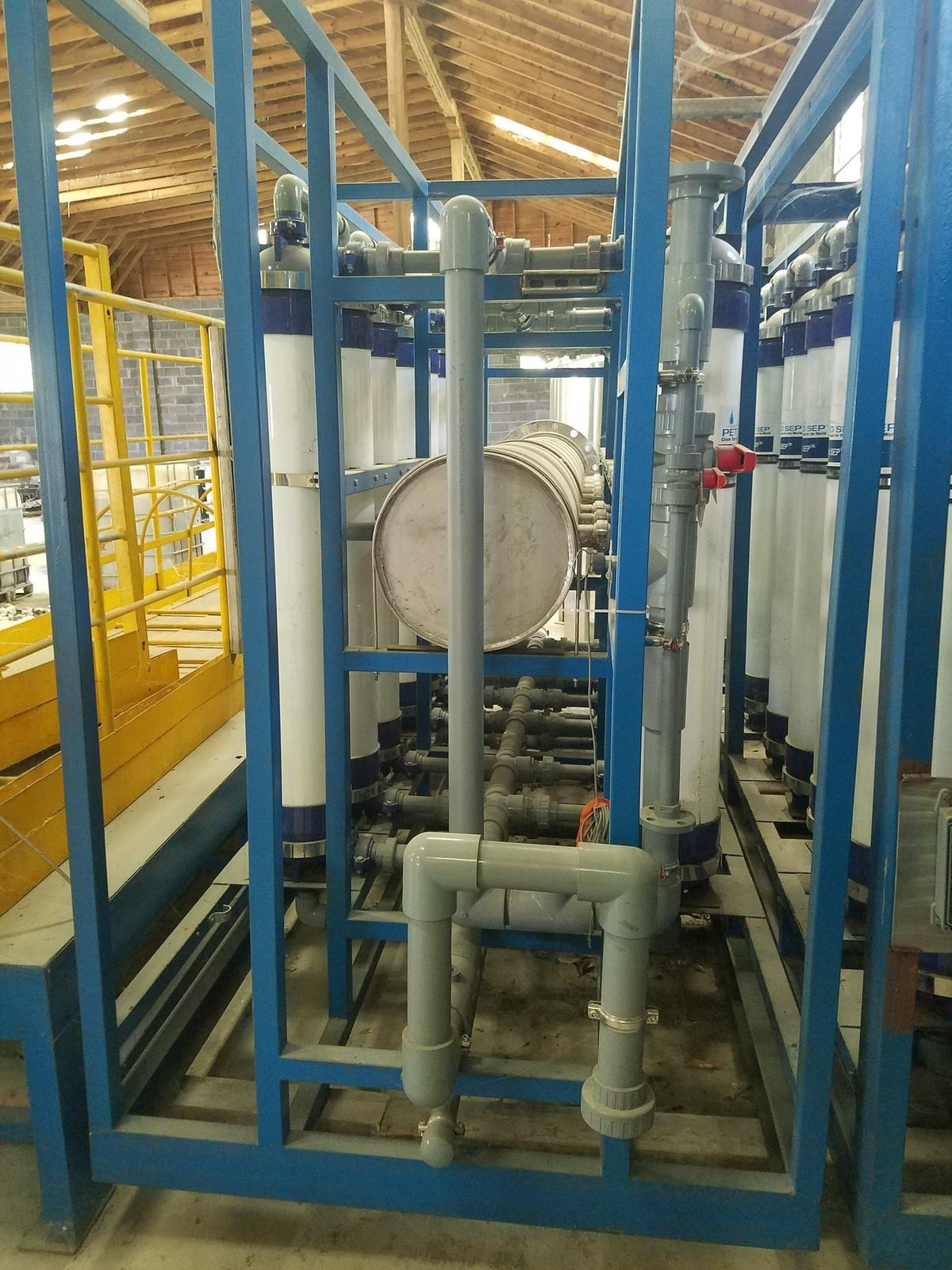 Petro Sep UF Membrane Filtration Skid System, Includes (2) SS Cartridge Filters, | Rig Fee: $1200 - Image 7 of 13