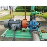 Goulds 6X8-14H Centrifugal Pump, M# 3410, S/N Q204H823, W/ Toshiba 100 HP Electr | Rig Fee: $1000